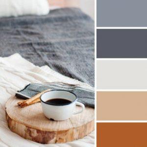 Paletta colori stile Hygge